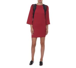 6204ff5fcd03 Fracomina - Κοντό Μπορντώ Φόρεμα FRACOMINA