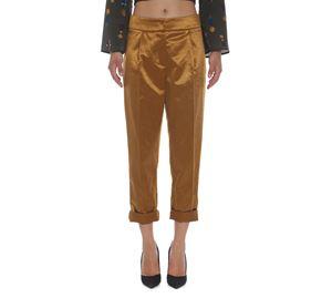 Fracomina - Γυναικείο Γυαλιστερό Παντελόνι FRACOMINA fracomina   γυναικεία παντελόνια
