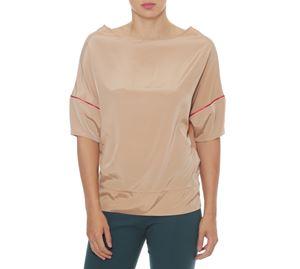 Fracomina - Γυναικεία Γυαλιστερή Μπλούζα FRACOMINA fracomina   γυναικείες μπλούζες