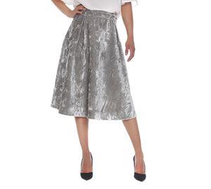 Fracomina - Γυαλιστερή Μίντι Φούστα FRACOMINA fracomina   γυναικείες φούστες
