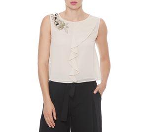 Fracomina - Γυναικεία Αμάνικη Μπλούζα FRACOMINA fracomina   γυναικείες μπλούζες