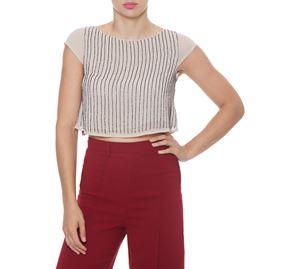 Fracomina - Γυναικεία Κοντή Μπλούζα FRACOMINA fracomina   γυναικείες μπλούζες