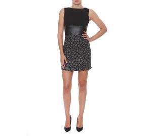 Fracomina - Γιορτινό Αμάνικο Κοντό Φόρεμα FRACOMINA fracomina   γυναικεία φορέματα