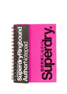 Hardcover Νotebook Superdry