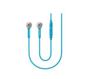 Summer Tech - Handsfree / Ακουστικά με μικρόφωνο και ρυθμιστή έντασης για όλα τα κινητά - Γαλάζιο