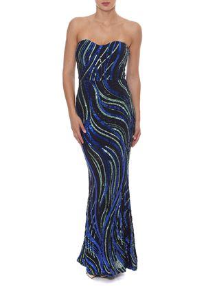 Outlet - Στράπλες Φόρεμα WOW