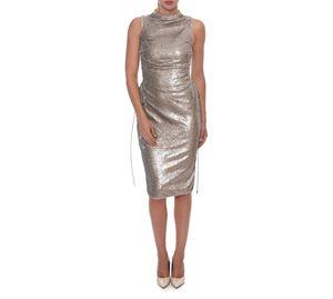 Outlet - Ασημί Φόρεμα WOW