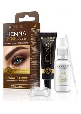 Revers HENNA PROcolors #light Brown