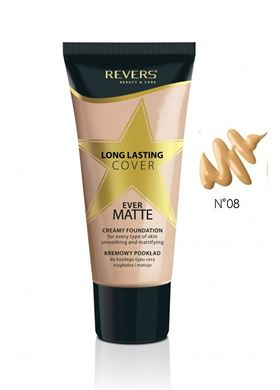 Fluid Long Lasting CoverFoundation 08 SUNNY
