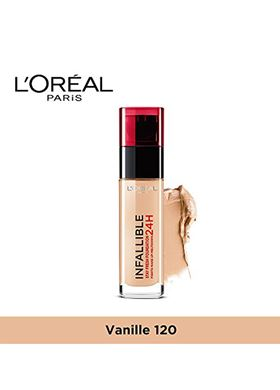L'OREAL Paris Infaillible 24H Foundation 120 Vanilla