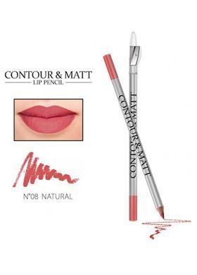 Contour & Matte Lip Pencil 08 natural