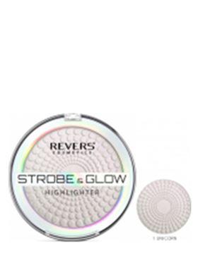 Revers Strobe & Glow Highlighter Brightening Powder 02