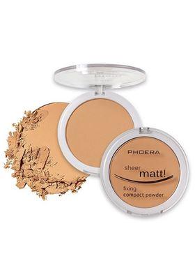 Phoera Cosmetics Compact Powder Golden Beige 205 (12g)