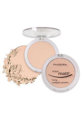 Phoera Cosmetics Compact Powder Natural Beige 202 (12g)