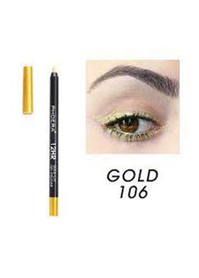 Phoera Cosmetics Eyeliner Gel Pencil Gold 106