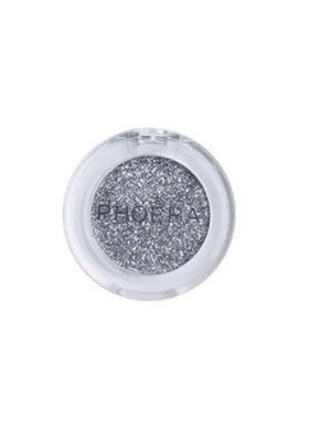 Phoera Cosmetics Glitter Eyeshadow Silver 101 (2g)