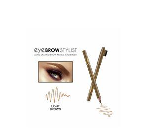 Beauty Basket - Eyebrow Stylist Long Lasting Pencil With Brush Light BrownΕΙΔΗ-00000738