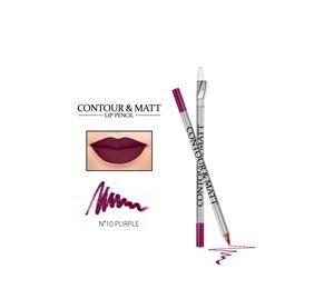 Beauty Basket - Contour & Matt Lip Pencil 10 Purple