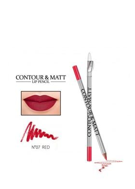 Contour & Matte Lip Pencil 07 Red