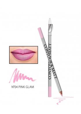 Contour & MAtte Lip Pencil 04 Pink Glam
