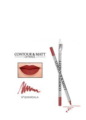 Contour & Matte Lip Pencil 02 Marcala