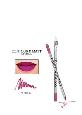 Contour & Matte Lip Pencil 01 Rose