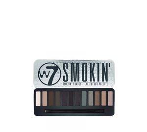 Beauty Basket - W7 Smokin Eye Colour Palette