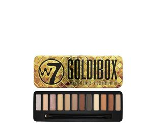 Beauty Basket - W7 Goldibox Eye Colour Palette