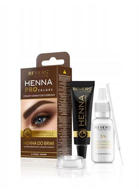 Revers HENNA PROcolors #Brown