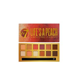 Beauty Basket - W7 Life's A Peach Eye Colour Palette