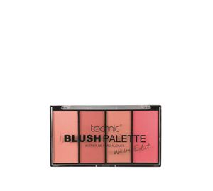 Beauty Basket - technic blush palette warm edit