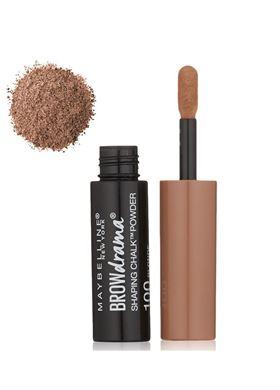 Maybelline Brow Drama Shaping Chalk Powder Dark Blonde