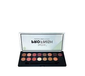 Beauty Basket - Technic Pro Finish 16 Colour Eyeshadow Palette-Toffee Edition