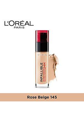 L'Oreal Paris Infaillible 24H Foundation 145 Rose Beige