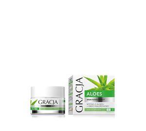 Beauty Basket - Gracja Aloe Moisturizing Cream 50ml