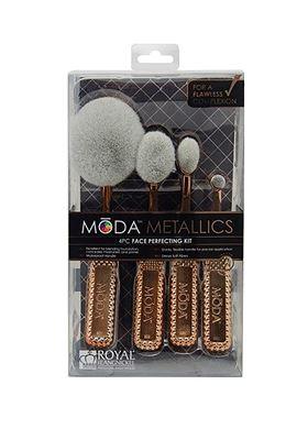 Royal & Langnickel Moda Metallics Face Perfecting Kit 4pc