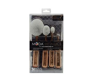 Beauty Basket - Royal & Langnickel Moda Metallics Face Perfecting Kit 4pc