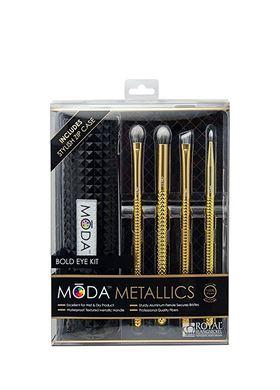 Royal & Langnickel Moda Metallics Bold Eye Kit 5pc