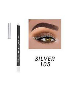 Phoera Cosmetics Eyeliner Gel Pencil Silver 105