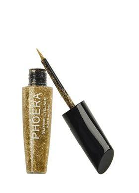 Phoera Cosmetics Glitter Eyeliner Gold 102 (7ml)