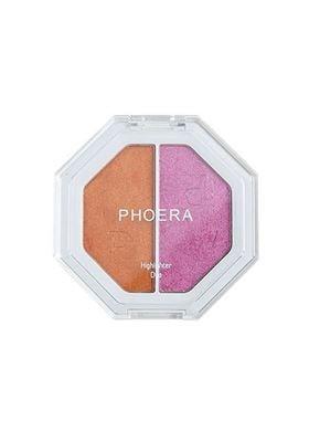 Phoera Cosmetics Highlighter Duo Mimosa Sunrise / Sangria Sunset 201 (7g)