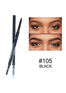 Phoera Cosmetics Ultra Slim Eyebrow Pencil Black 105
