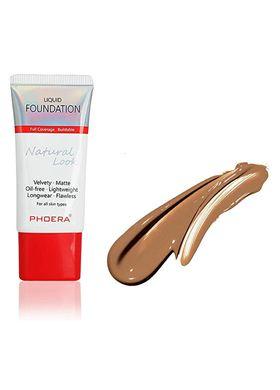 Phoera Cosmetics Velvet Liquid Matte Foundation Tan 108 (30ml)