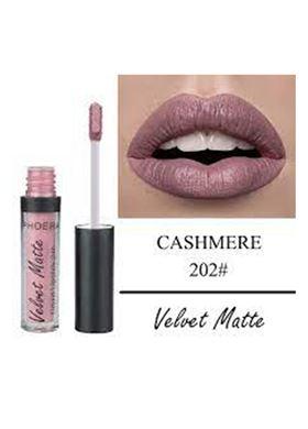 Phoera Cosmetics Velvet Matte Liquid Lipstick Cashmere 202 (2.5ml)