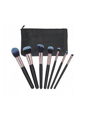 T4B MIMO Makeup Brush Set 7 Pcs Black