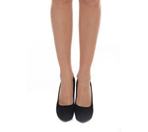 Shoes Fever - Σουεντ Ψηλοτάκουνες Γόβες Paris Hilton