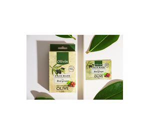 Olive Fruits & Fleurs - Μάσκα Προσώπου Olivin