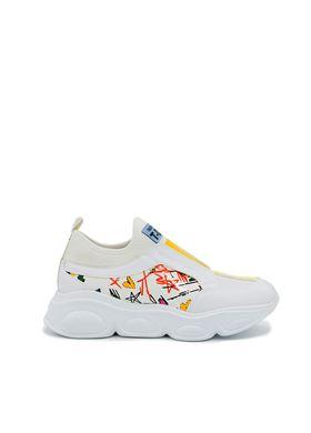 Γυναικεία Sneakers σε λευκό χρώμα MIGATO