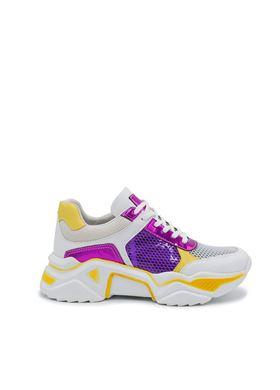 Γυναικεία μωβ Sneakers MIGATO