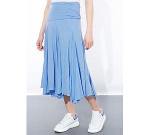 Celestino - Γυναικεία Φούστα CELESTINO ,Χρώμα γαλάζιο ,Εβαζέ celestino   γυναικείες φούστες